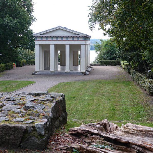 Blick nach Belvedere auf den Tollensesee