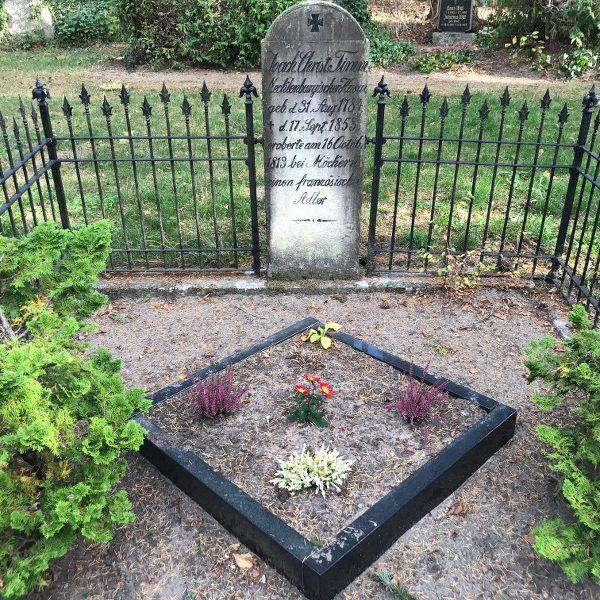 Das Grab des Husaren Timm