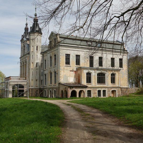 Das Malliner Schloss wird saniert