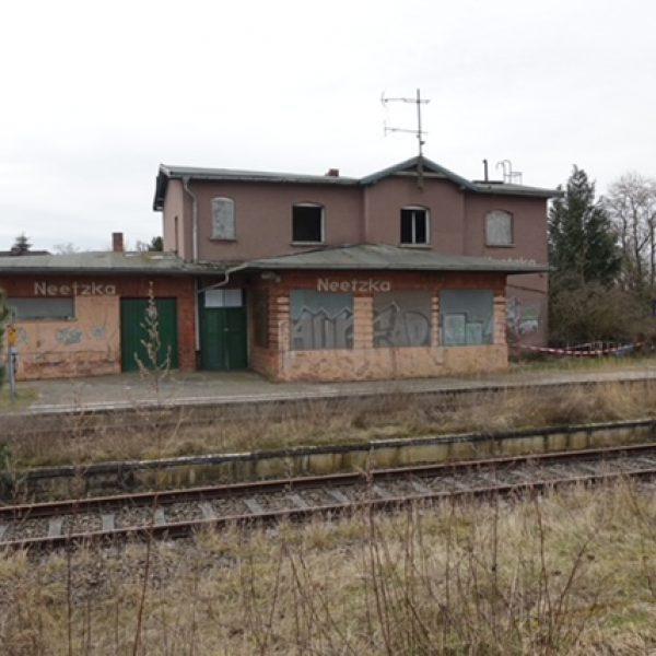 Der Bahnhof Neetzka steht seit 2014 leer