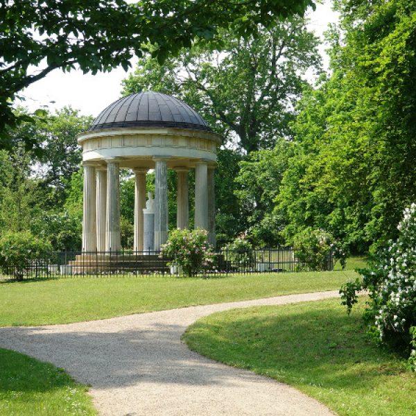 Der Luisentempel steht auf dem Lieblingsplatz von Königin Luise