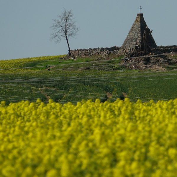 Die Grabpyramide des Reichsfreiherren Joseph von Maltzahn