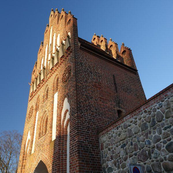 Neues Tor Stadtseite