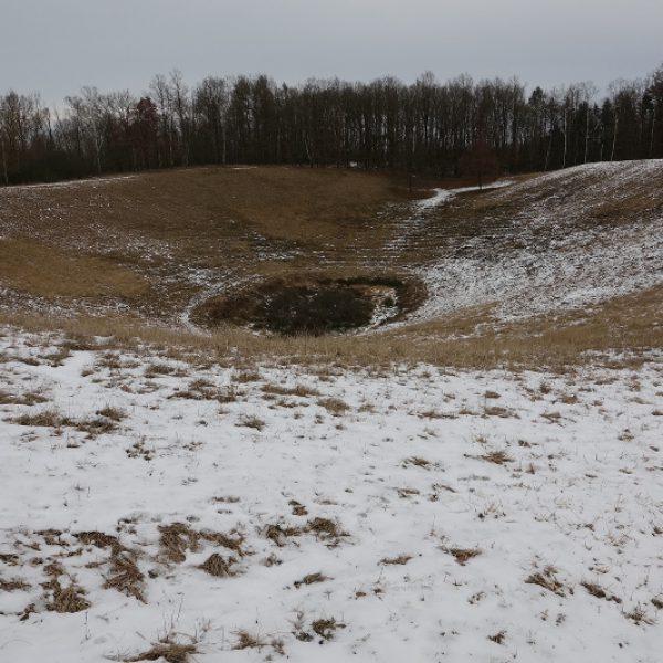 Rühlower Osauge im Winter